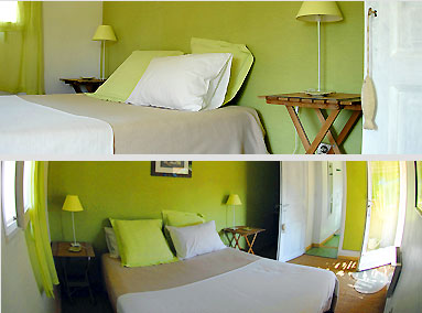chambre grenouille les tourterelles s jours et vacances en mer m diterran e chambre d 39 h te. Black Bedroom Furniture Sets. Home Design Ideas